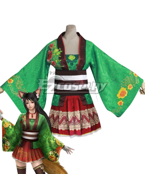 Dynasty Warriors 8 Guan Yinping DLC Cosplay Costume
