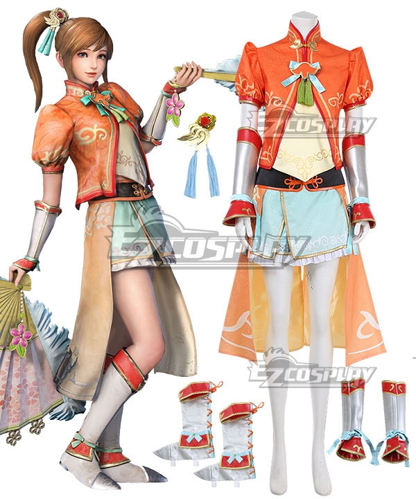 Dynasty Warriors 9 Xiaoqiao Cosplay Costume