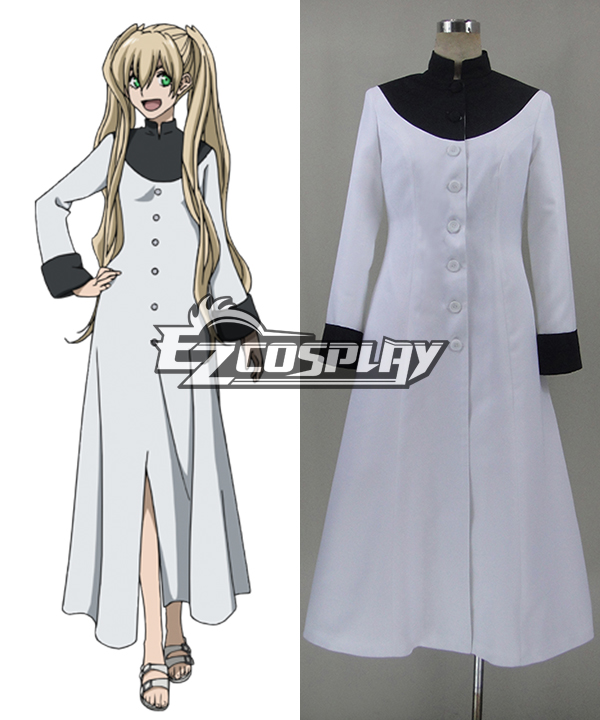 Blood Blockade Battlefront White Cosplay Costume