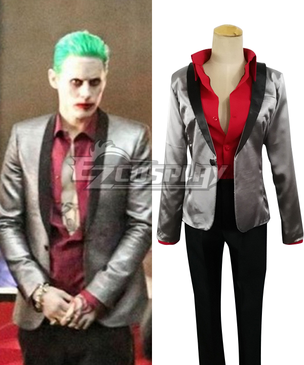 DC Comics Batman Suicide Squad Joker Cosplay Costume