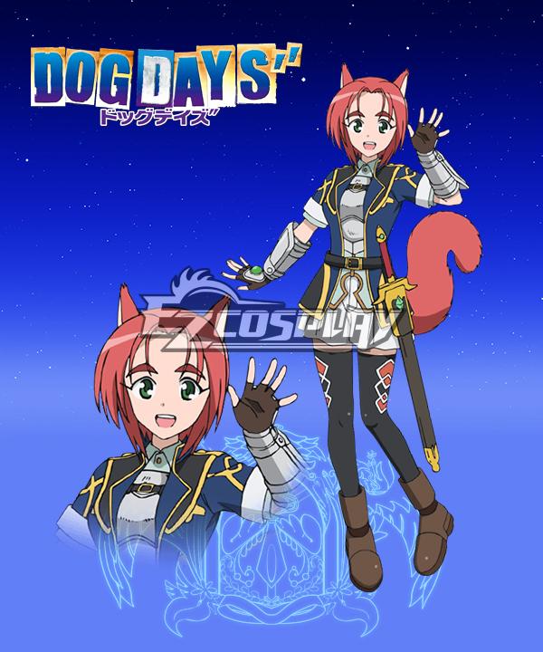 DOG DAYS'' Liscia Enrobez Cosplay Costume