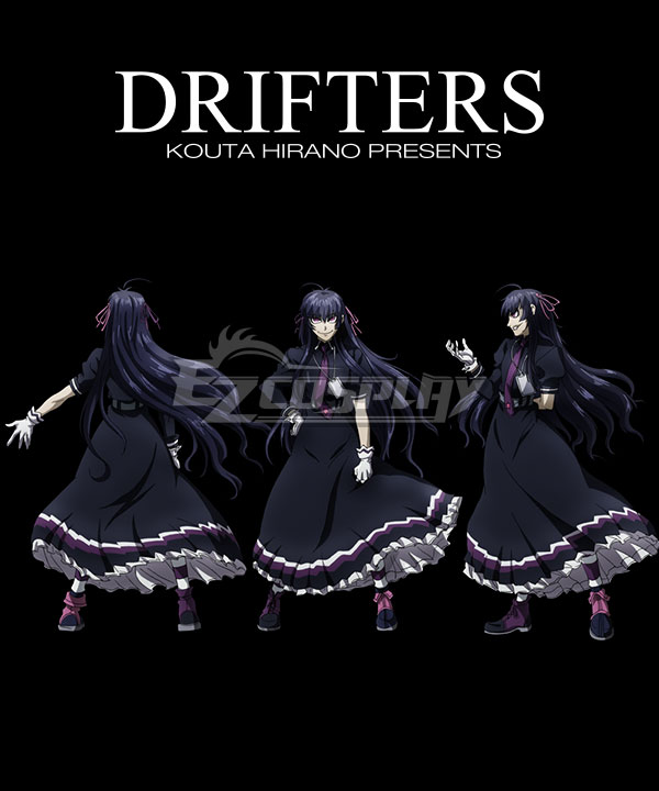 Drifters Easy Cosplay Costume
