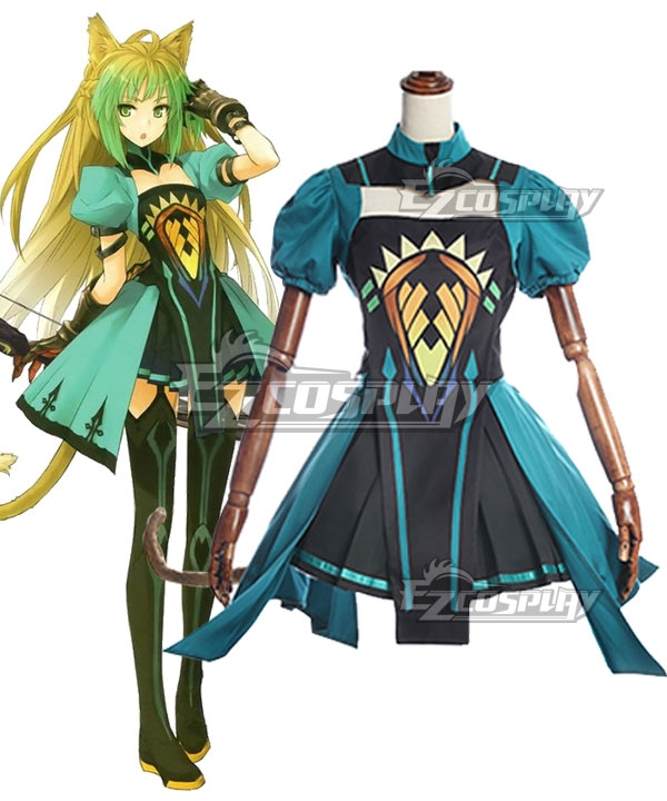 Fate Apocrypha Archer of Red Atalanta Chaste Cosplay Costume