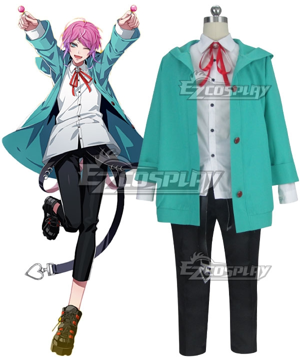 Hypnosis Mic Division Rap Battle Ramuda Amemura Easy R Cosplay Costume - B Edition