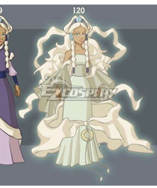 Avatar The Last Airbender Princess Yue Cosplay Costume - 120