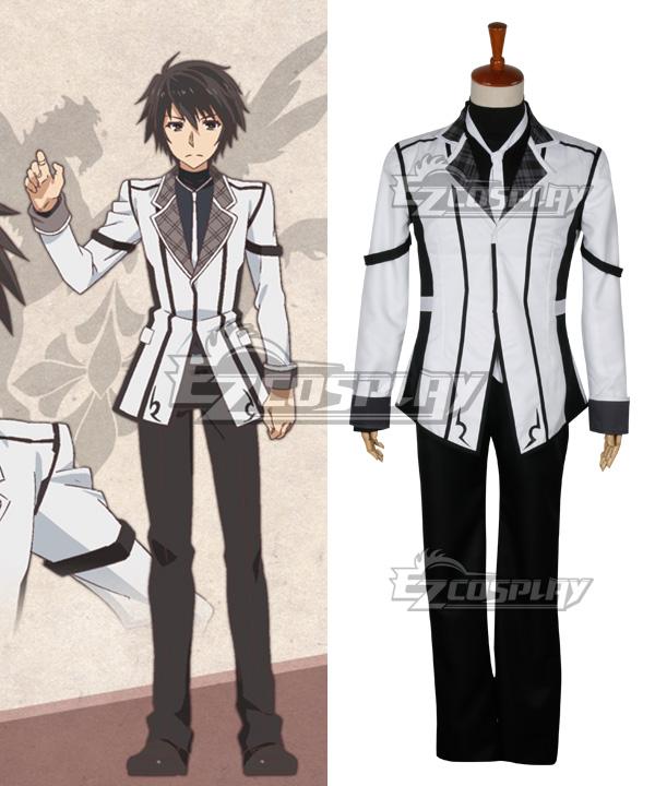 Chivalry of a Failed Knight Rakudai Kishi no Kyabaruryi A Tale of Worst One Ikki Kurogane Cosplay Costume