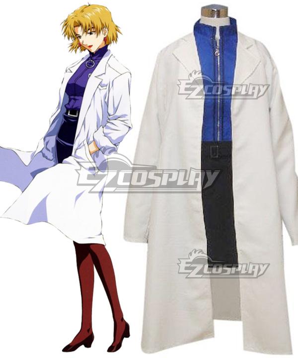 EVA Neon Genesis Evangelion Ritsuko Akagi Cosplay Costume