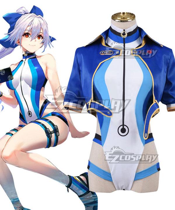 Fate Grand Order FGO Tomoe Gozen Swimsuit Cosplay Costume