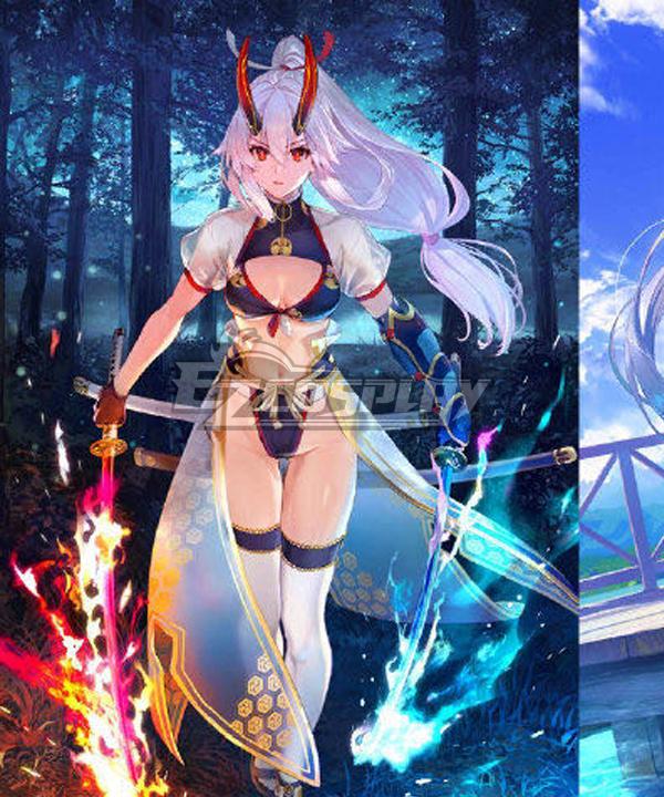 Fate Grand Order FGO Tomoe Gozen Swimsuit Stage 3 Cosplay Costume