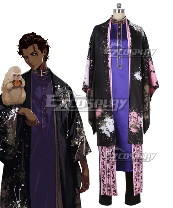 Fate Grand Order Heroic Spirit Traveling Outfit Arjuna Cosplay Costume