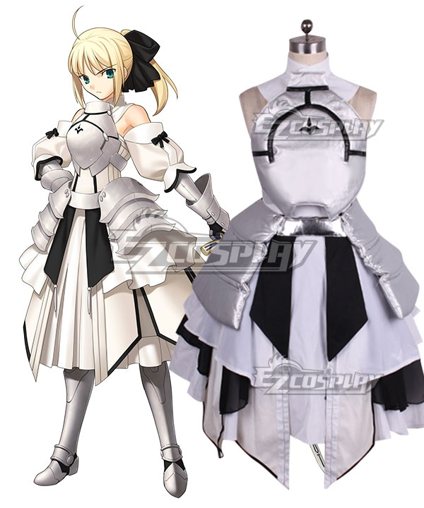 Fate Stay Night Fate Grand Order Saber Lily Artoria Pendragon Cosplay Costume