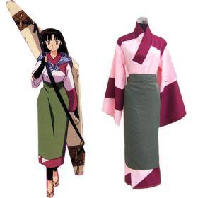 Inuyasha Sango Cosplay Costume EIY0003