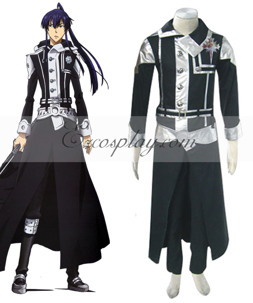 D.Gray-man Yuu Uniform Cosplay Costume