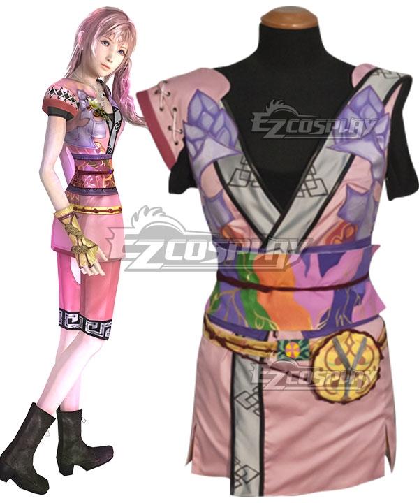 Final Fantasy XIII-2 FF13-2 Serah Farron DLC Summoner's Garb Cosplay Costume