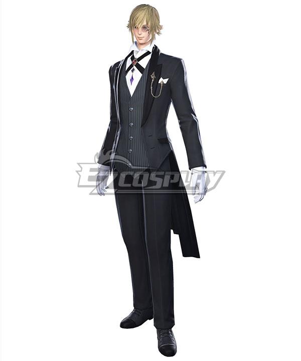 Final Fantasy XIV Butler Attire Cosplay Costume