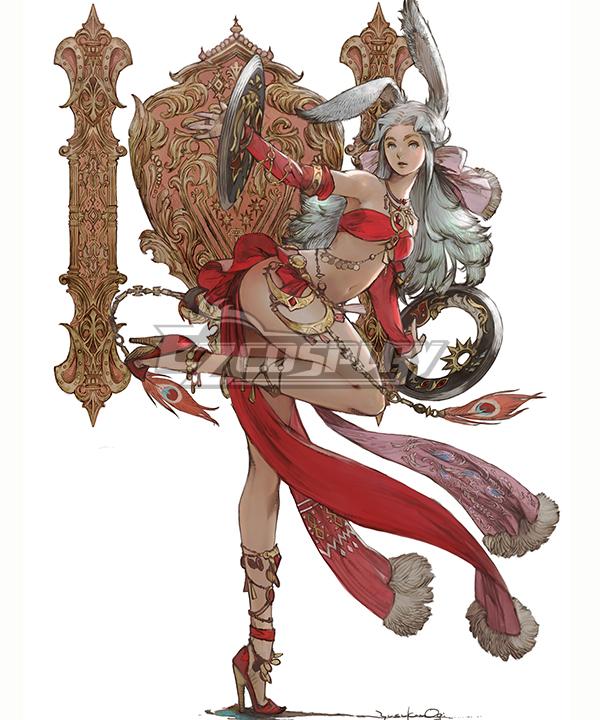 Final Fantasy XIV FF14 Dancer Cosplay Costume