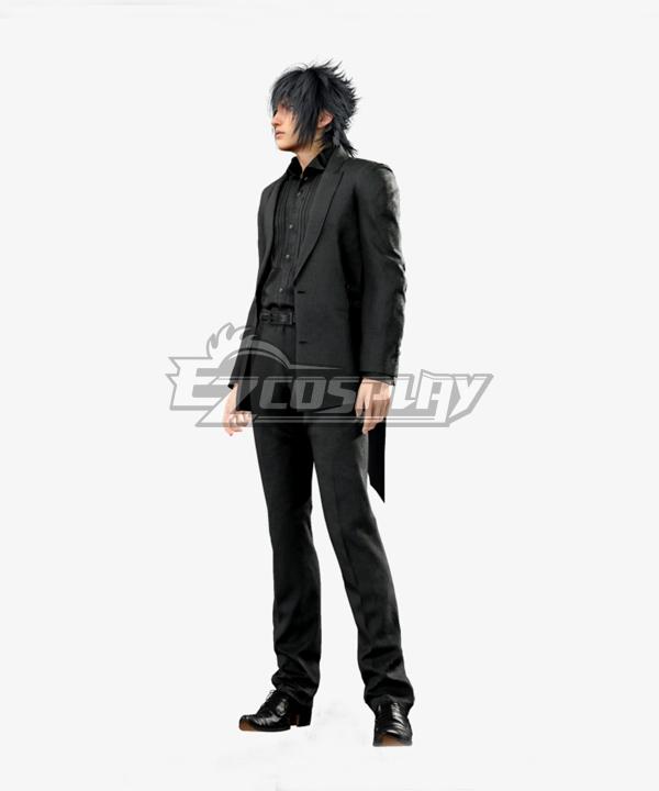 Final Fantasy XV Noctis Lucis Caelum Black Suit Cosplay Costume