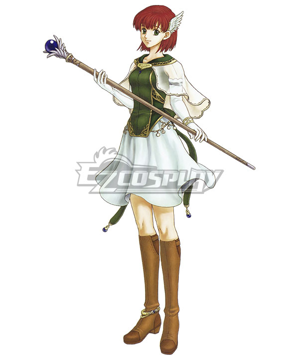 Fire Emblem: The Blazing Blade Priscilla Cosplay Costume
