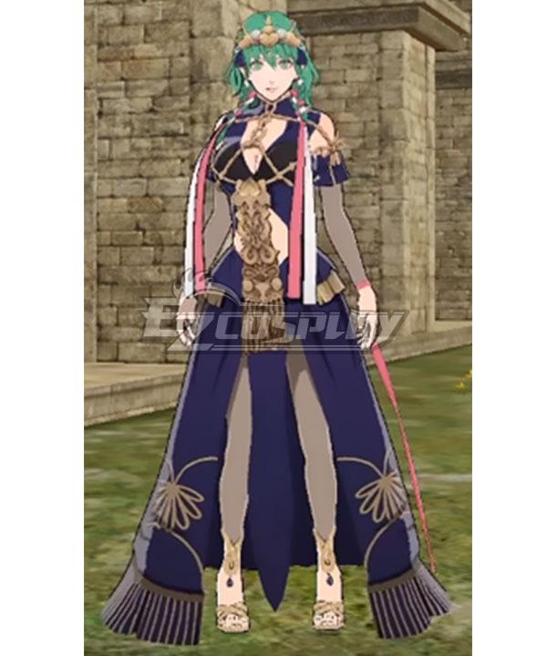 Fire Emblem Three Houses DLC Byleth Female Sothis Regalia Cosplay Costume