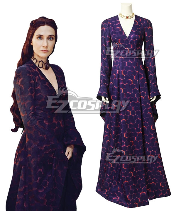 Game of Thrones Season 8 Melisandre Cosplay Costume