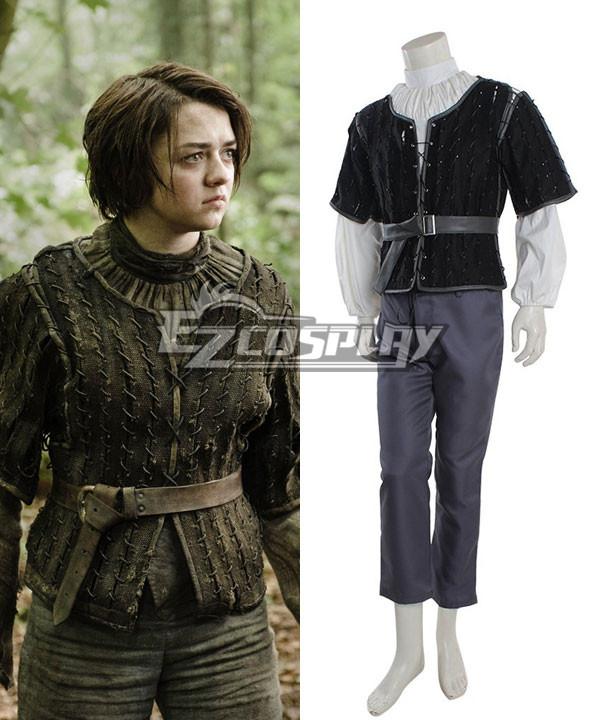 Game of thrones Arya Stark Cosplay Costume