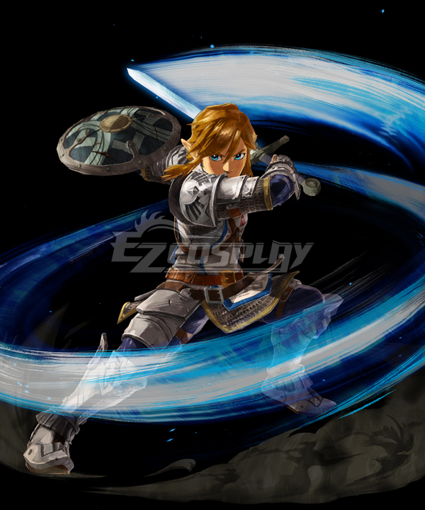 Hyrule Warriors: Age of Calamity Link Cosplay Costume