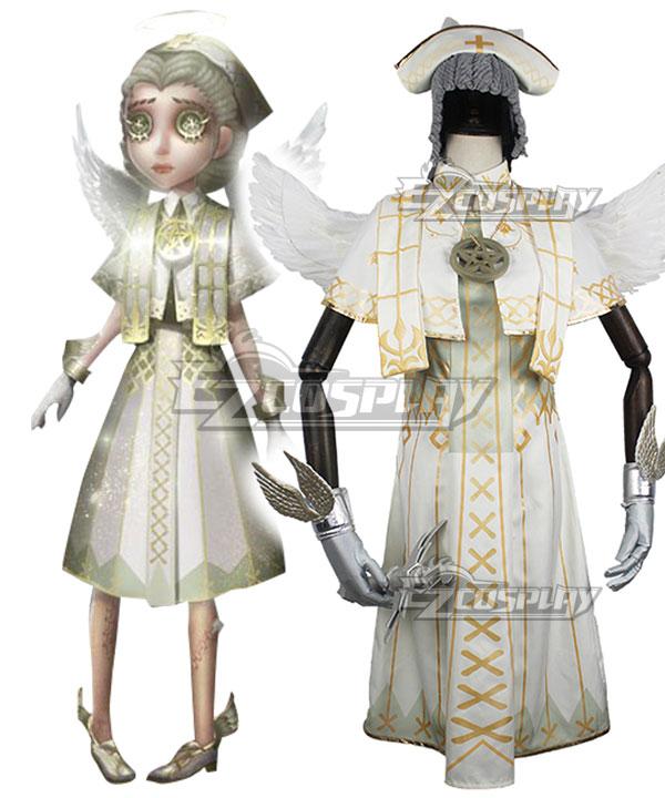 Identity V Doctor Emily Dyer Holy Angel Halloween Cosplay Costume