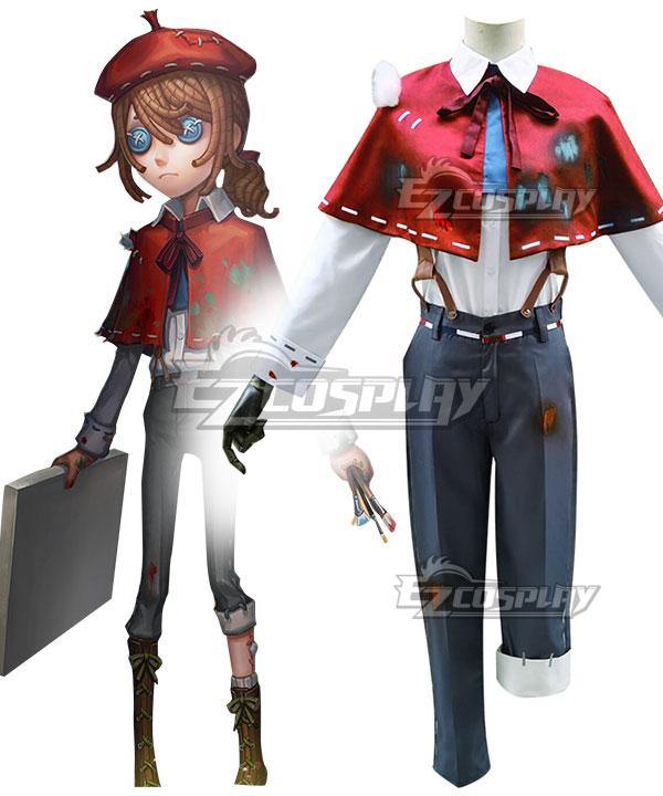 Identity V Painter Edgar Valden Halloween Cosplay Costume
