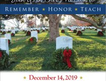 Wreaths Across America Wreath Day Poster