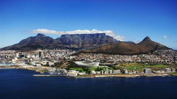 Cape Town, South Africa (photo: travelnoire.com)