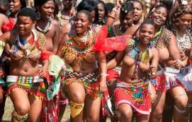 Image result for Zulu maidens prepares for a dance