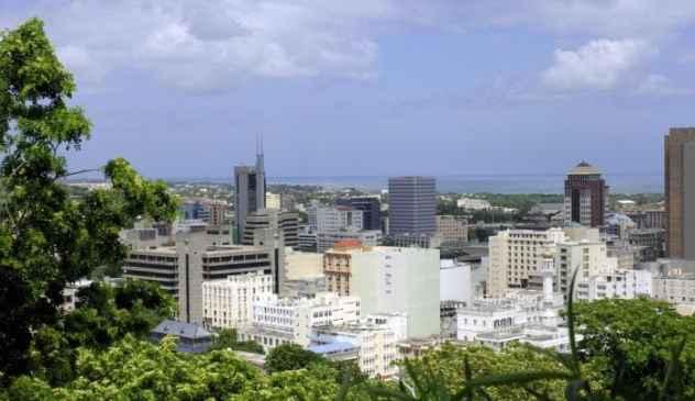 Capital city of Mauritius