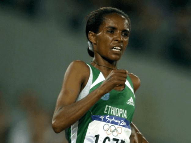 Ethiopian Derartu Tulu