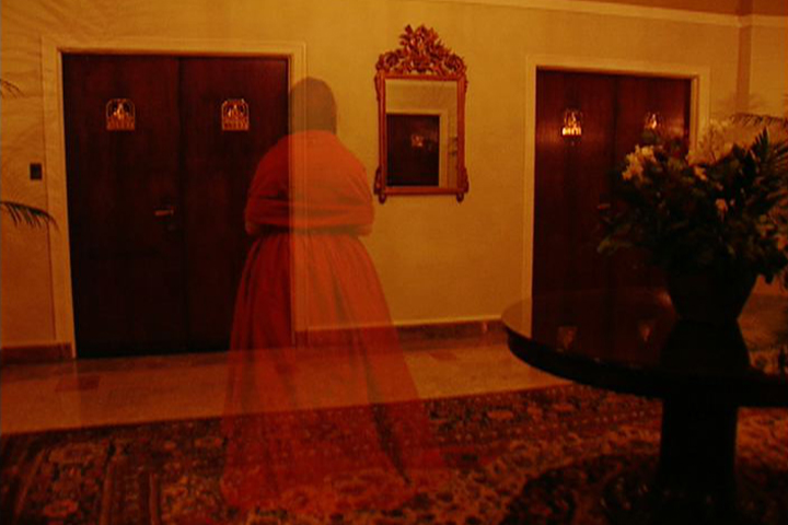 Image result for Christmas Visitor lady dressed in red apparition