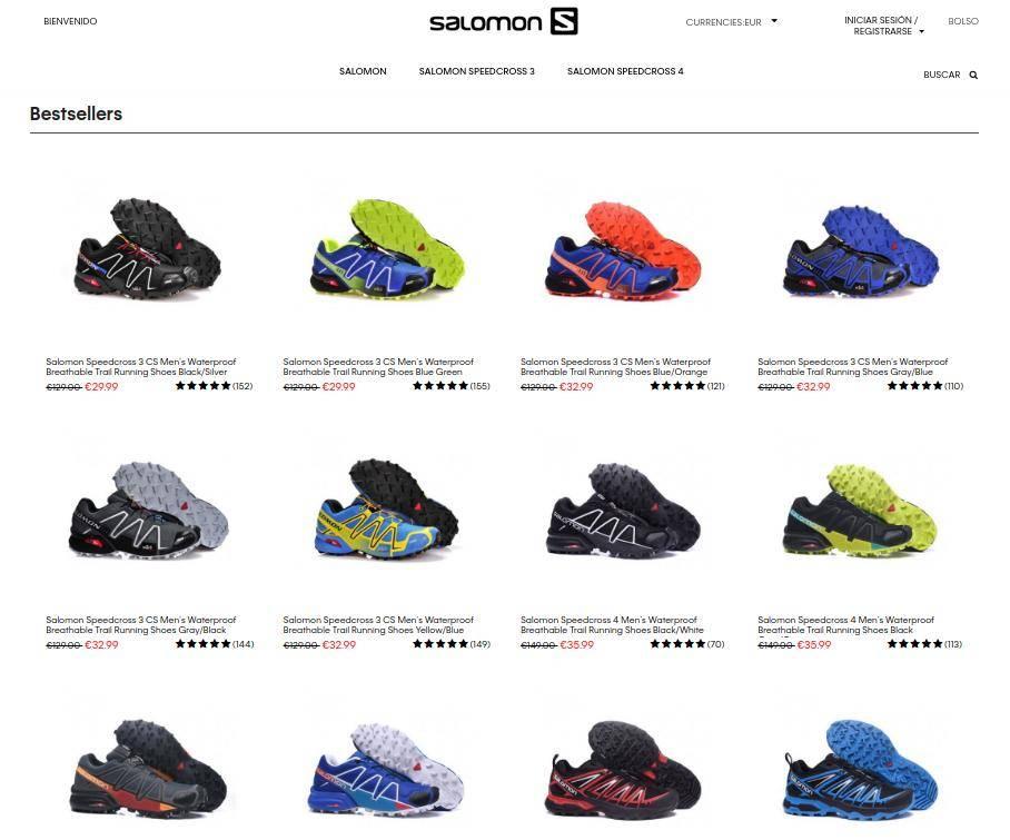 Azsemkr.com Otra Tienda Falsa Salomon Productos