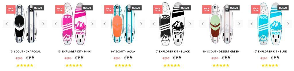 Paddleboards Es.com Tienda Online Falsa