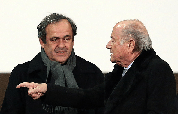 UEFA, under Michel Platini, has called for the FIFA presidential elections to be postponed. Source: Getty.