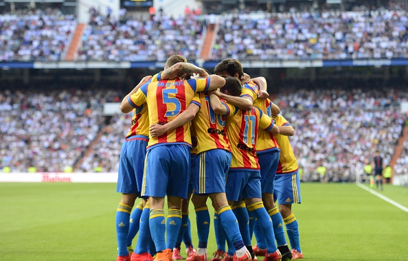 Valencia need a win against Almeria to secure Champions League football next season. Source: Getty Images.