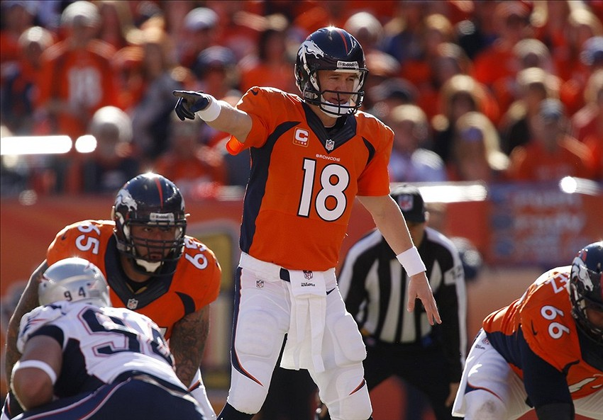 AFC Championship Game 2014 Broncos Take 10 0 Lead On
