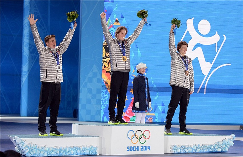 2014 Sochi Winter Olympics Medal Count Day 7 Standings