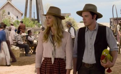 Seth MacFarlane has followed up Ted with A Million Ways to Die in the West