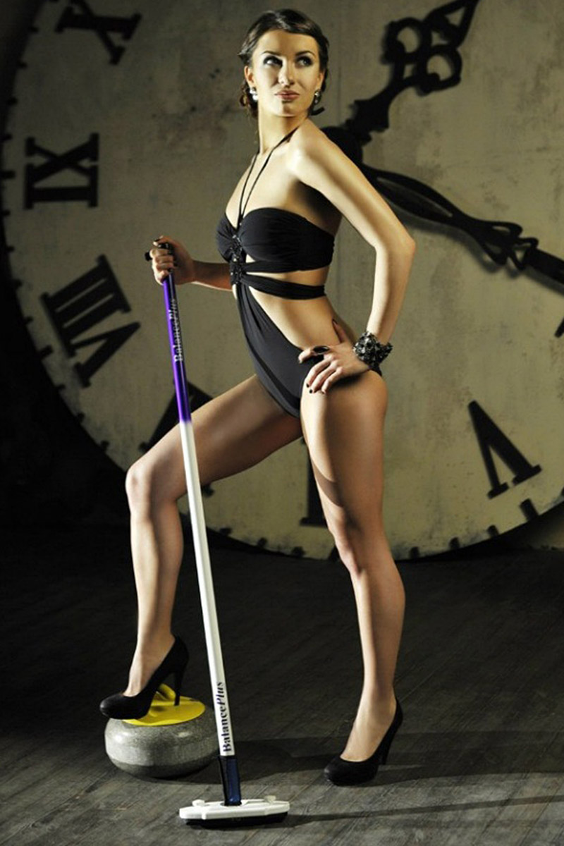 Sochi Olympics Russian Curling Captain Anna Sidorova Poses In Lingerie Photos Page 6