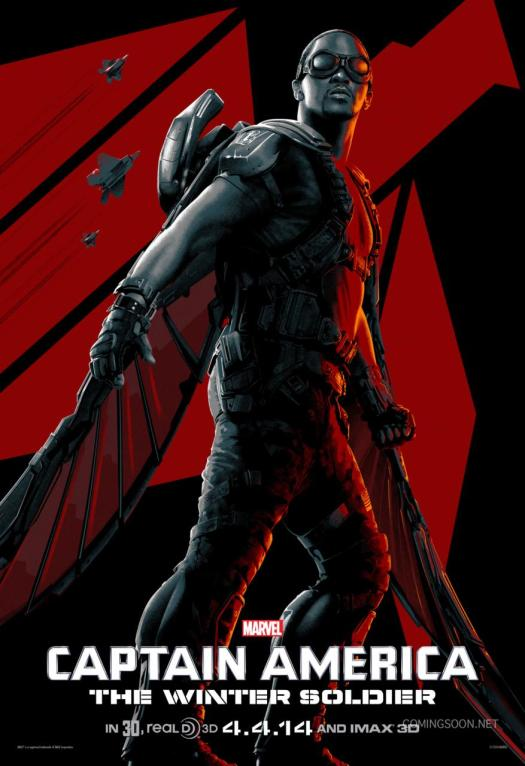 Captain America: The Winter Soldier - New Stylized ...
