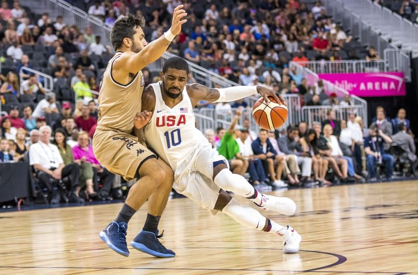 Kyrie Irving Torches Argentina Defenders Ankles