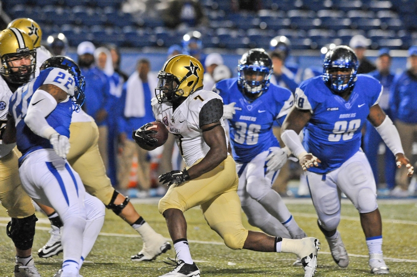 a1e4dfcfa (Source) Vanderbilt beat Middle Tennessee 17-13 wearing these road uniforms.  (Source) The Commodores ...