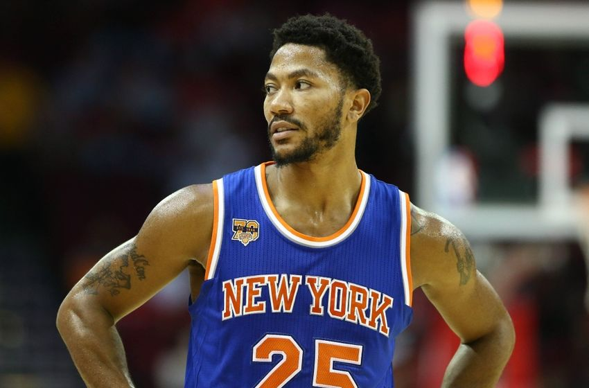 Image result for derrick rose new york knicks