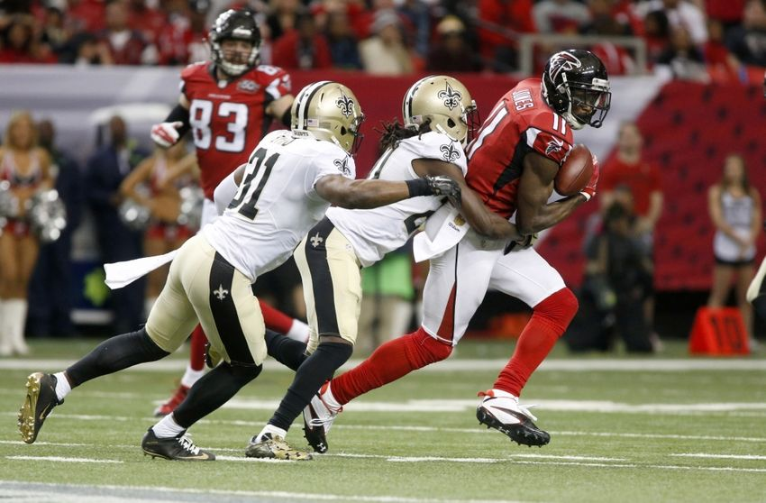 Image result for atlanta falcons vs saints 2016