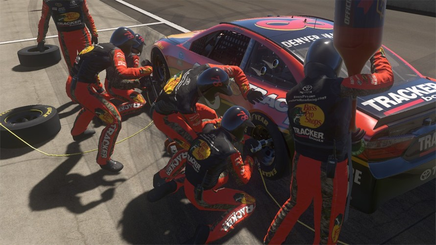 Image result for nascar heat evolution pit stops