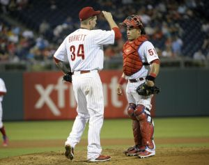 It's coal in the stocking for AJ, gifts for Chooch (Photo Credit: Eric Hartline-USA TODAY Sports)
