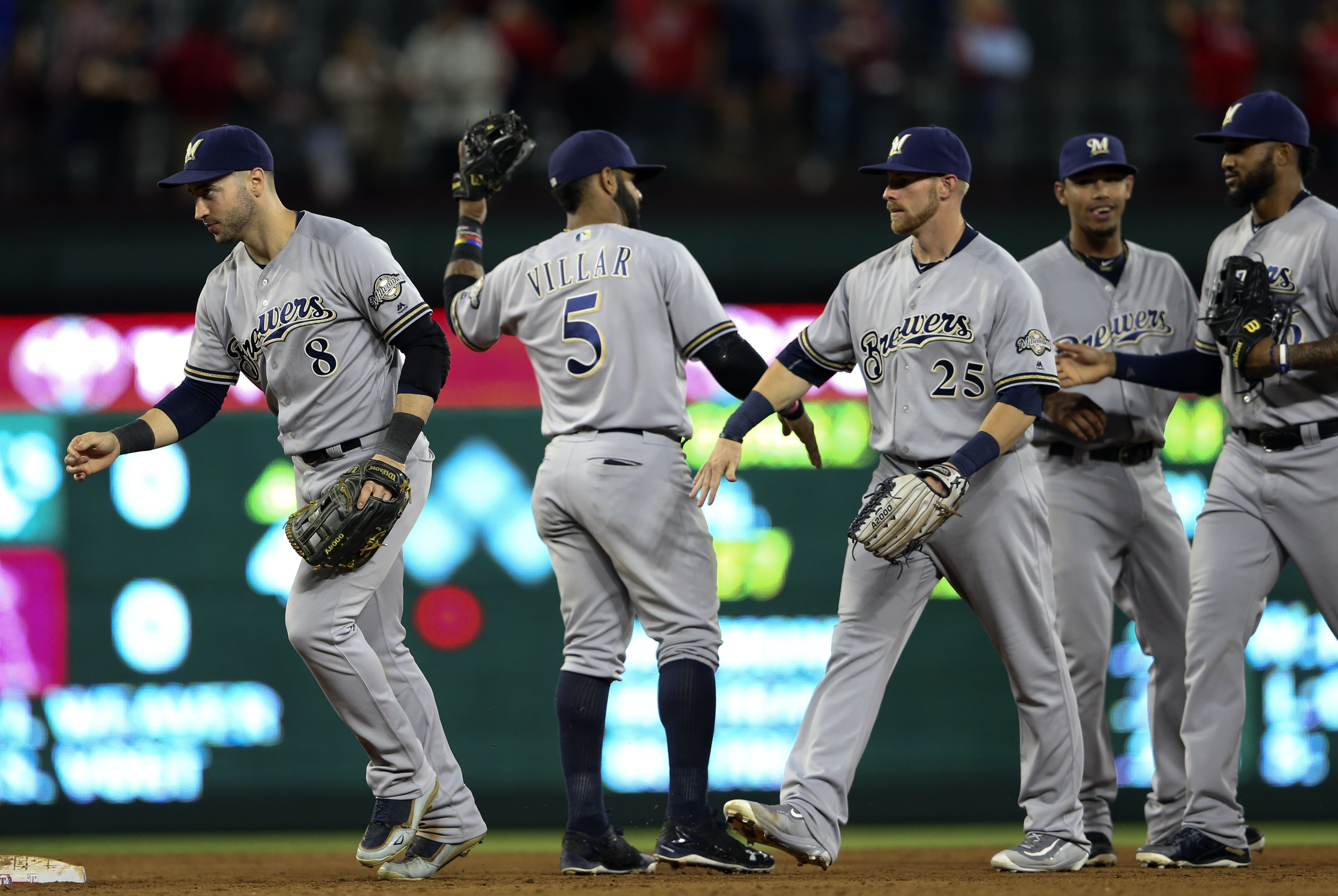 Image result for Milwaukee brewers playing away games